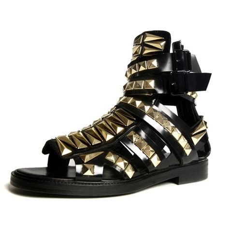 givenchy mens sandals givenchy studded mens gladiator sandals want le petit