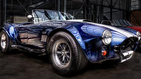Classic Car Wallpaper Set As Background by Wallpaper Cobra Cabrio Classic Car Blue