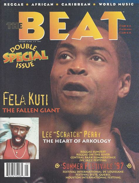 Cover Beat 2017 Afropop Worldwide Best Of The Beat On Afropop Fela Kuti