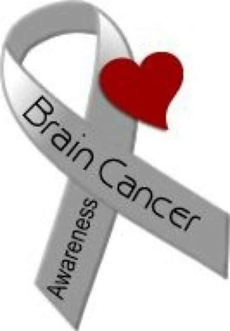 brain cancer ribbon color brain cancer awareness