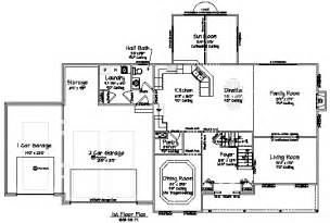 New House Floor Plans floor plans for new homes dream home house floor plans