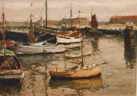 boten in rotterdamse haven moll e evert moll boten in de haven van scheveningen