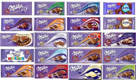milka alpine milk chocolate bars 25 different flavors