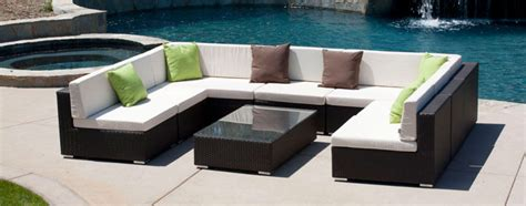 rushreed 3 piece outdoor sectional outdoor sectional sofas stylish outdoor patio sectional