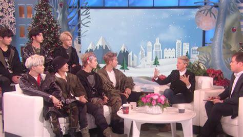 bts the ellen show bts interview on the ellen degeneres show watch the