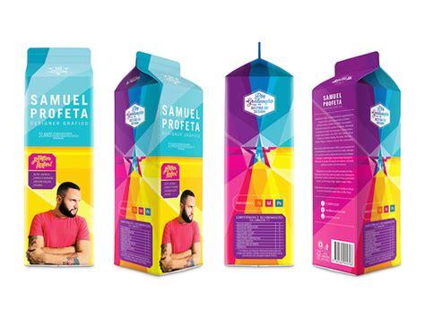 milk graphic design magazine graphic designer cleverly prints his resume on a cardboard