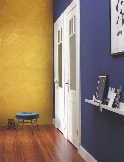 wandfarbe effekt effektfarbe kreativ wandfarbe gold alpina farbrezepte