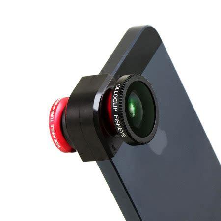 olloclip iphone 5s / 5 fisheye, wide angle, macro lens kit