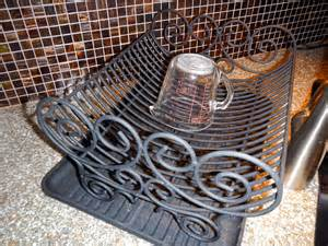 Decorative Dish Rack by Kitchen Cook It