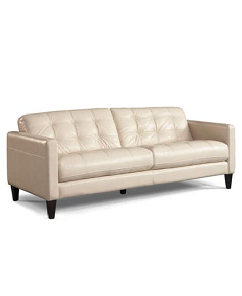 Macy Leather Sofa Milan Leather Sofa Furniture Macy S