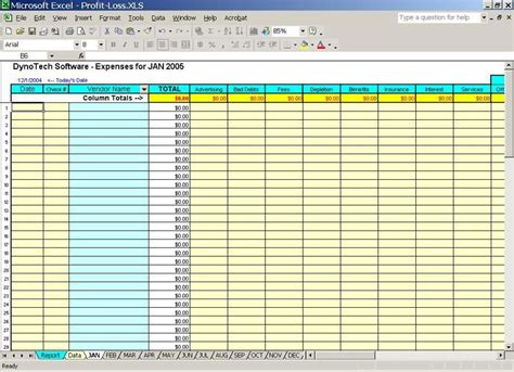 daily income  expense excel sheet