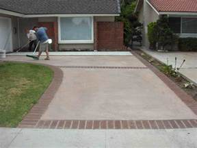completed driveways terry s quality concrete