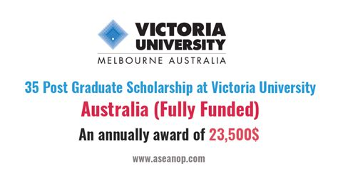 Fully Funded Mba Scholarships In Australia by 35 Post Graduate Scholarship At