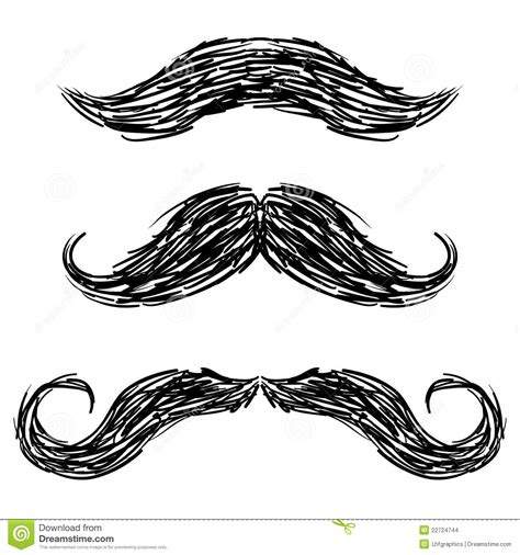moustache stock images royalty free images vectors moustache sketch stock vector image of hair handsome 22724744