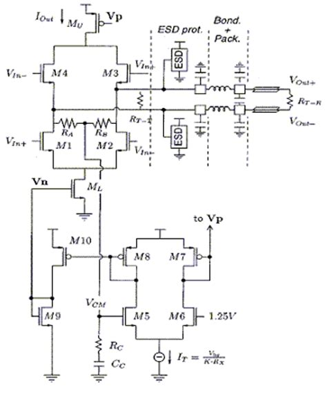 lvds resistor network the design of lvds interface for a multi channel a d converter ee times