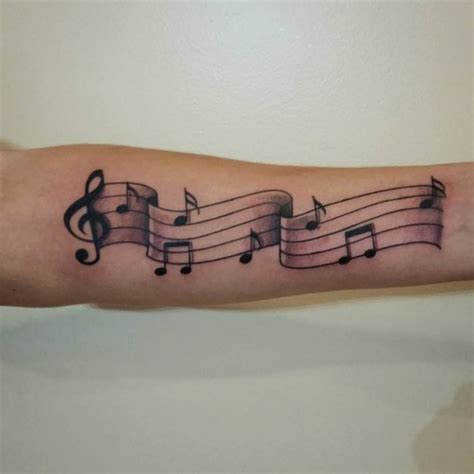 music note tattoo 75 lovely note ideas for those who is in