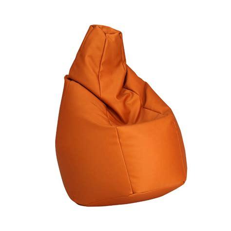 zanotta poltrone zanotta poltrona anatomica sacco medium arancio