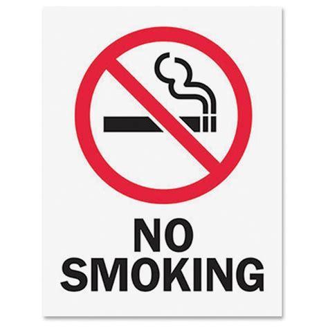 large printable no smoking signs tarifold magneto safety sign inserts no smoking 6 pack