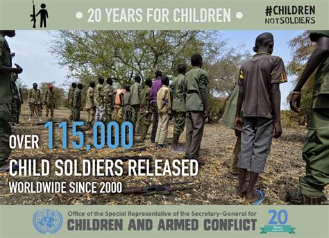 child recruitment and use united nations office of the
