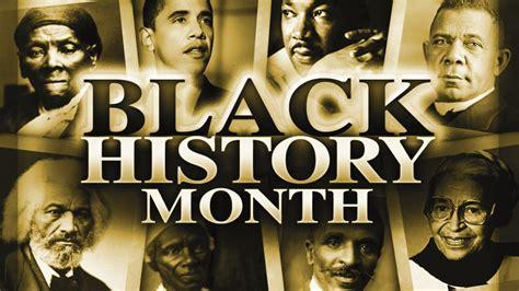 2016 black history month calendar of events msr news online