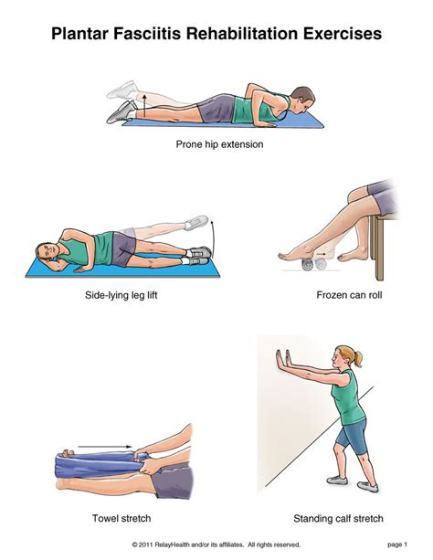 summit medical group plantar fasciitis exercises