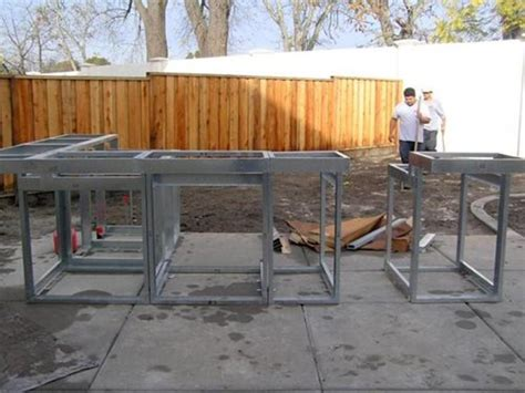 Modular Outdoor Kitchen Frames by Modular Outdoor Kitchen Frames Outdoor Kitchen Building