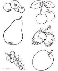 healthy color pictures healthy food coloring pages coloring home