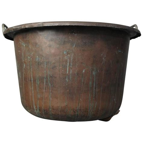 Large Copper Planter by Large Copper Planter For Sale At 1stdibs
