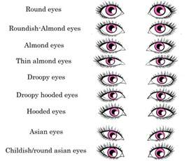 difference in race phenotypes and eye shape