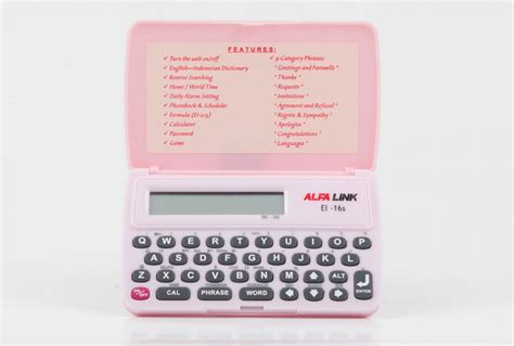 Alfalink Ei 16s Dictionary jual alfalink ei 16s jual kamus alfalink ei 16s di
