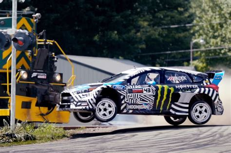 ford block ken block goes back to his roots in gymkhana 9 w