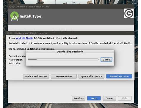 android studio linux cara instal android studio di linux melalui ppa dengan mudah gooretro