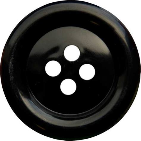 Button Black by Large Clown Buttons K1859 Black
