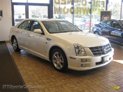 2009 Cadillac Sts by 2009 Cadillac Sts 4 V6 Awd In White Tricoat