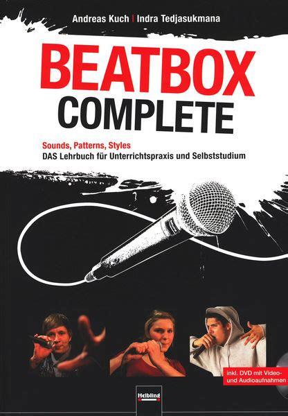tutorial beatbox dj helbling verlag beatbox complete thomann united states