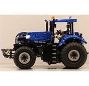 Lego Technic New Holland Tractor  The Car Blog