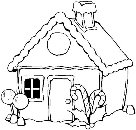 Coloring Pages Of Winter Houses | winter coloring page print winter pictures to color at