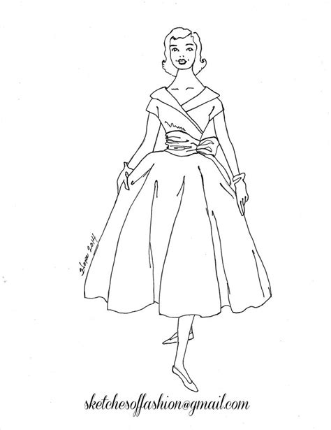 fashion coloring pages 18 best images about fashion coloring on