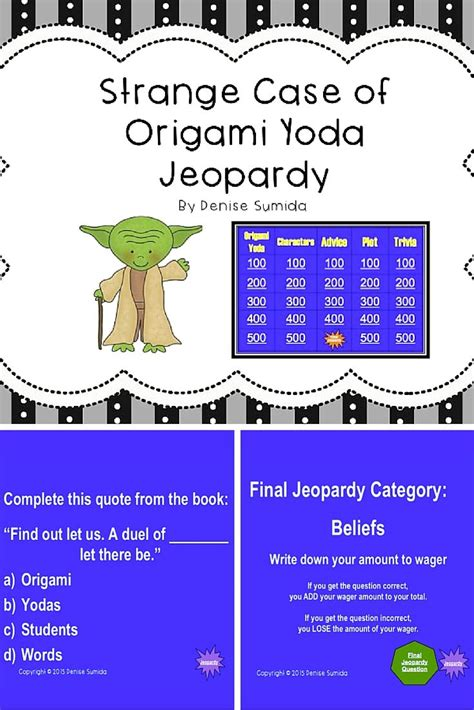 The Strange Of Origami Yoda Pdf - 1000 images about literature units and grades 4 6
