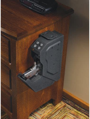 Desk Gun Safe by Pistol Handgun Safe Vault Cabinet Secure Keypad Lock