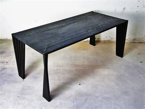 black ash table contemporary dining tables