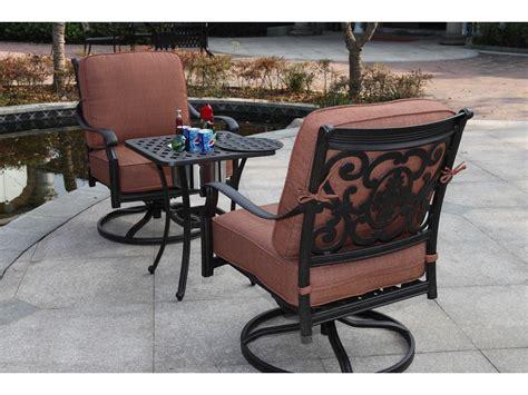 darlee st cruz cast aluminum patio swivel bar stool darlee outdoor living st cruz cast aluminum antique