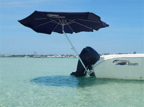 boat with umbrella umbrellas 4 boats miami florida