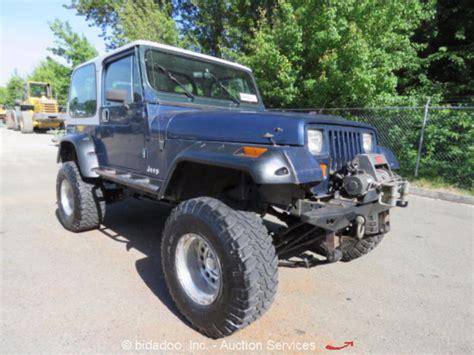 Jeep Tj Half Top 1990 Jeep Wrangler Yj 4 0l A T 4x4 Top W Soft Top