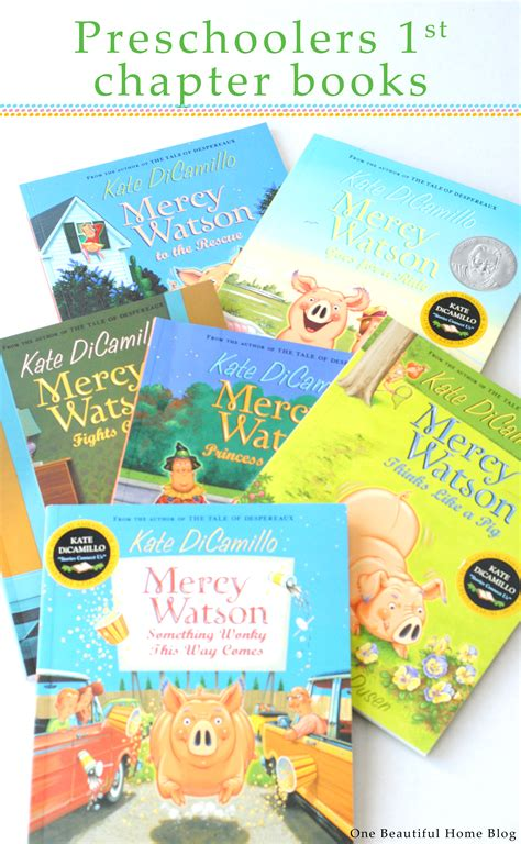 mercy and books chapter books for preschoolers a giveaway 187 one