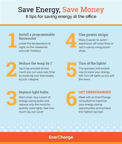 8 Tips For Home Energy Conservation by Saving Energy At The Office An Infographic Tips Energy