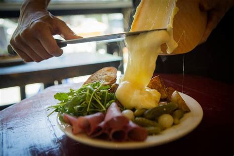 Cold Comfort Raclette S Cheesy Comfort Food Bubbles Up In The East