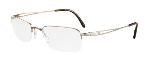 adidas a682 inspired 2d nylor performance steel eyeglasses