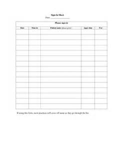 patient sign in sheet template best photos of patient sign in template patient sign in