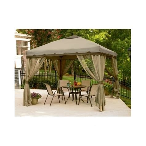 outdoor patio pop up gazebo canopy tent furniture pool
